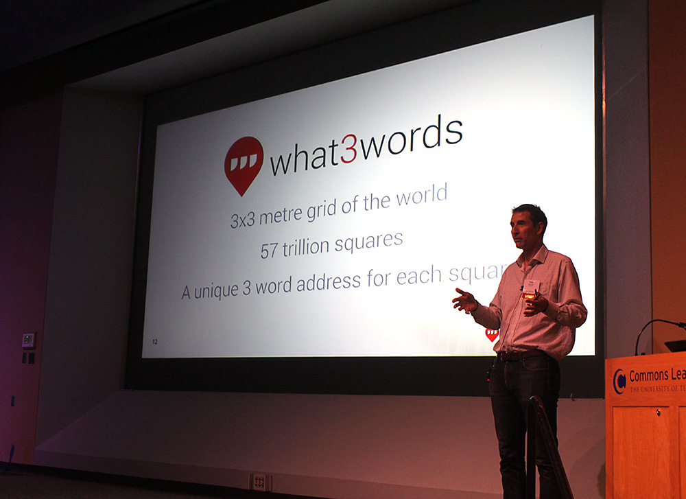 Tim Williams from what3words discusses their unique idea for creating addresses for every part of the globe.