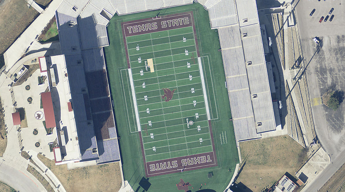 Natural Color preview of Bobcat Stadium