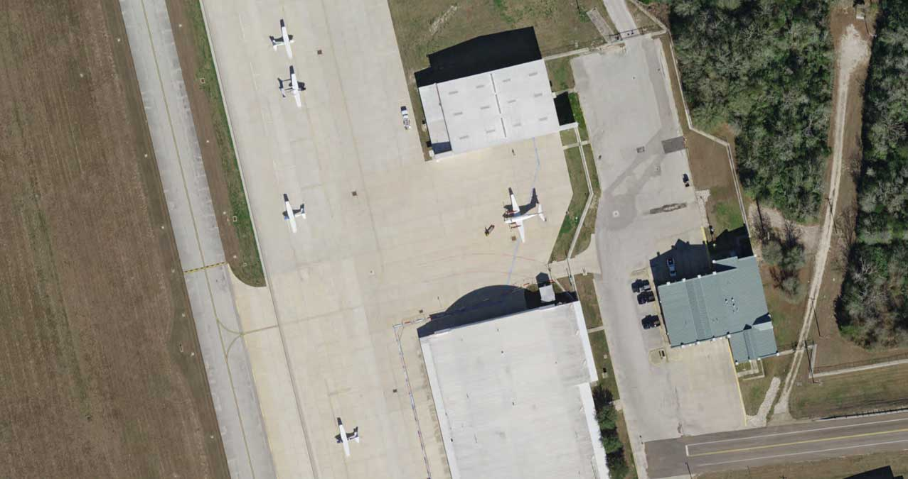 Natural Color preview of Easterwood Airport