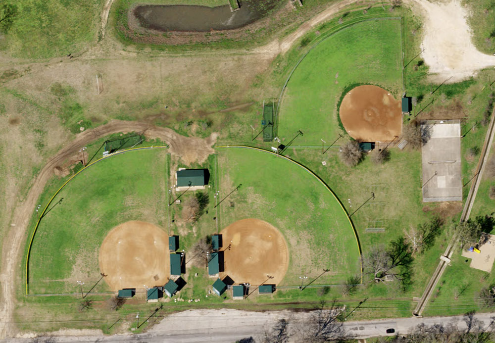 Natural Color preview of baseball fields Georgetown