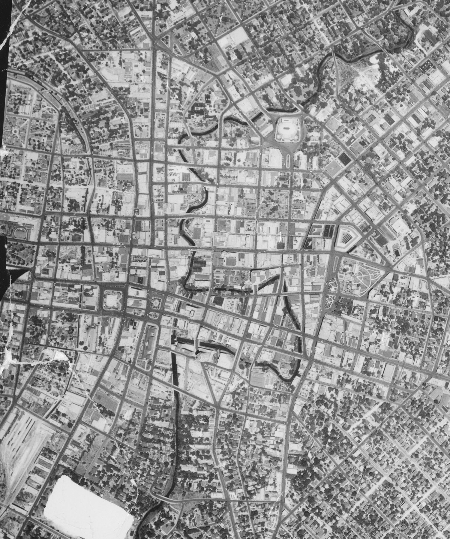 A large preview of the Downtown San Antonio, 1938 image