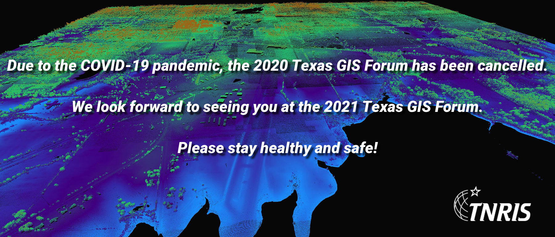 COVID-19 Texas GIS Forum Notice