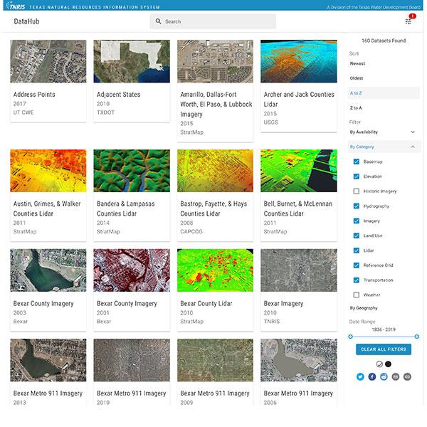 TNRIS Lidar Data Now Available for Download | TNRIS - Texas