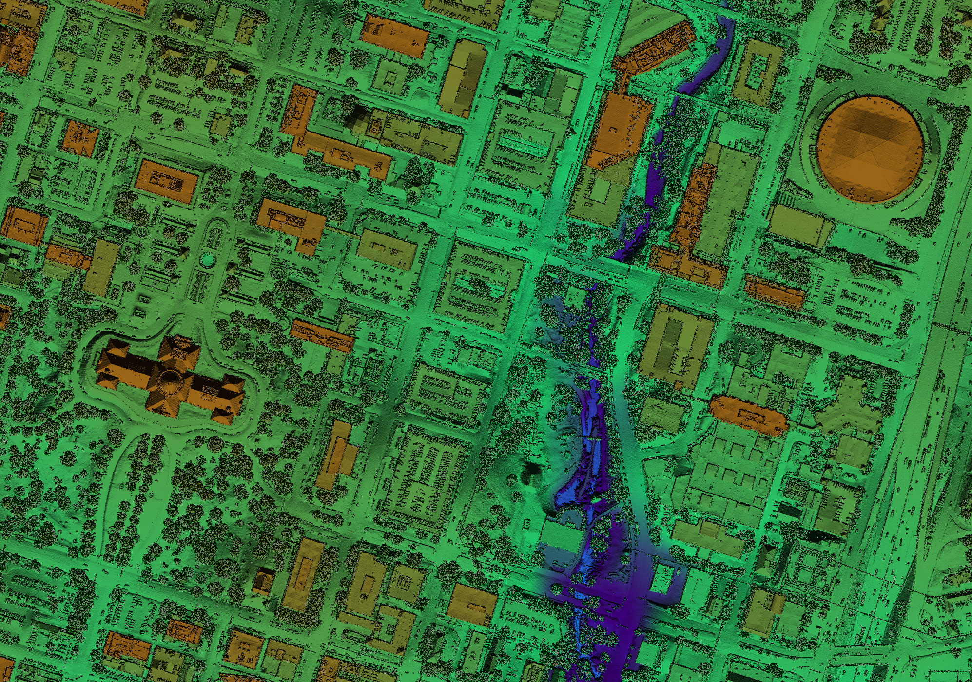 detail image of Central Texas Lidar