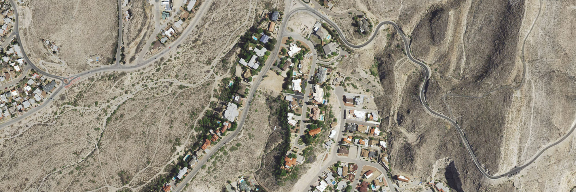 Natural Color preview of El Paso Residential Area