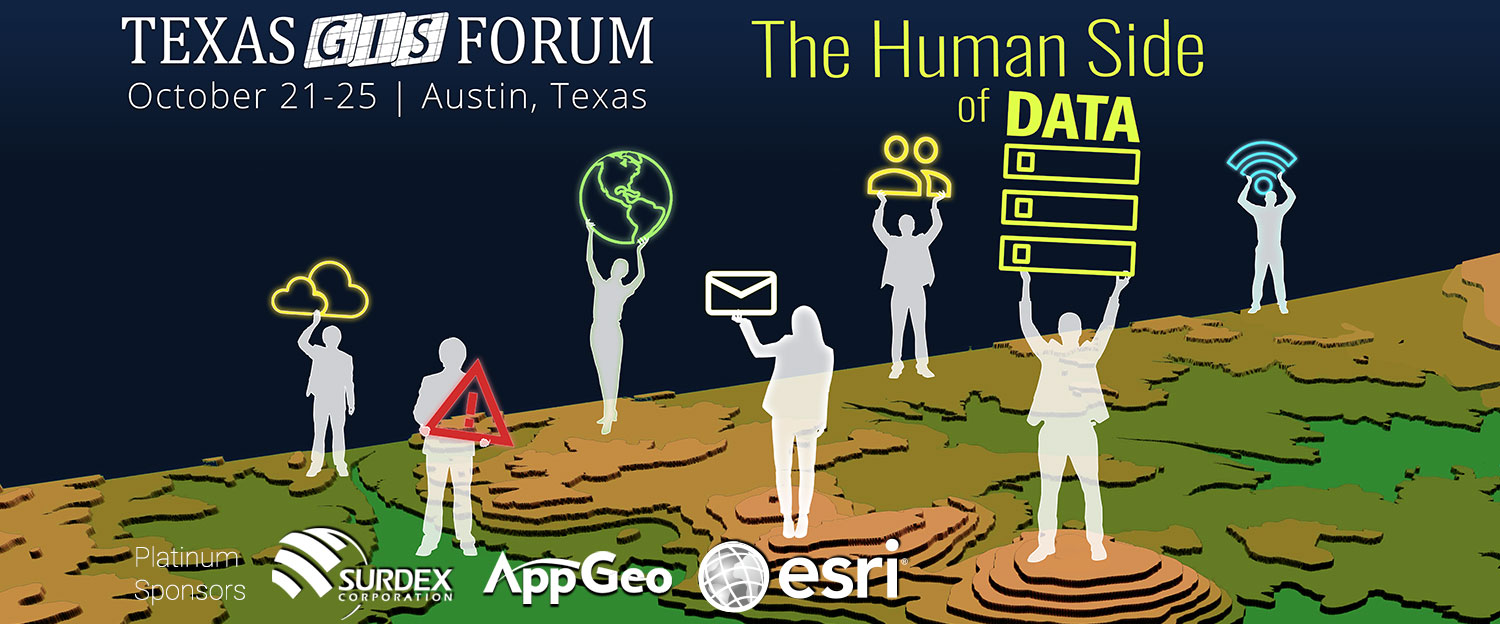 2019 Texas GIS Forum Graphic