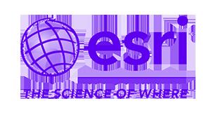 Esri logo and link