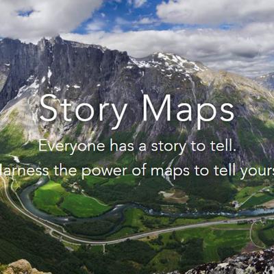 Esri storymap
