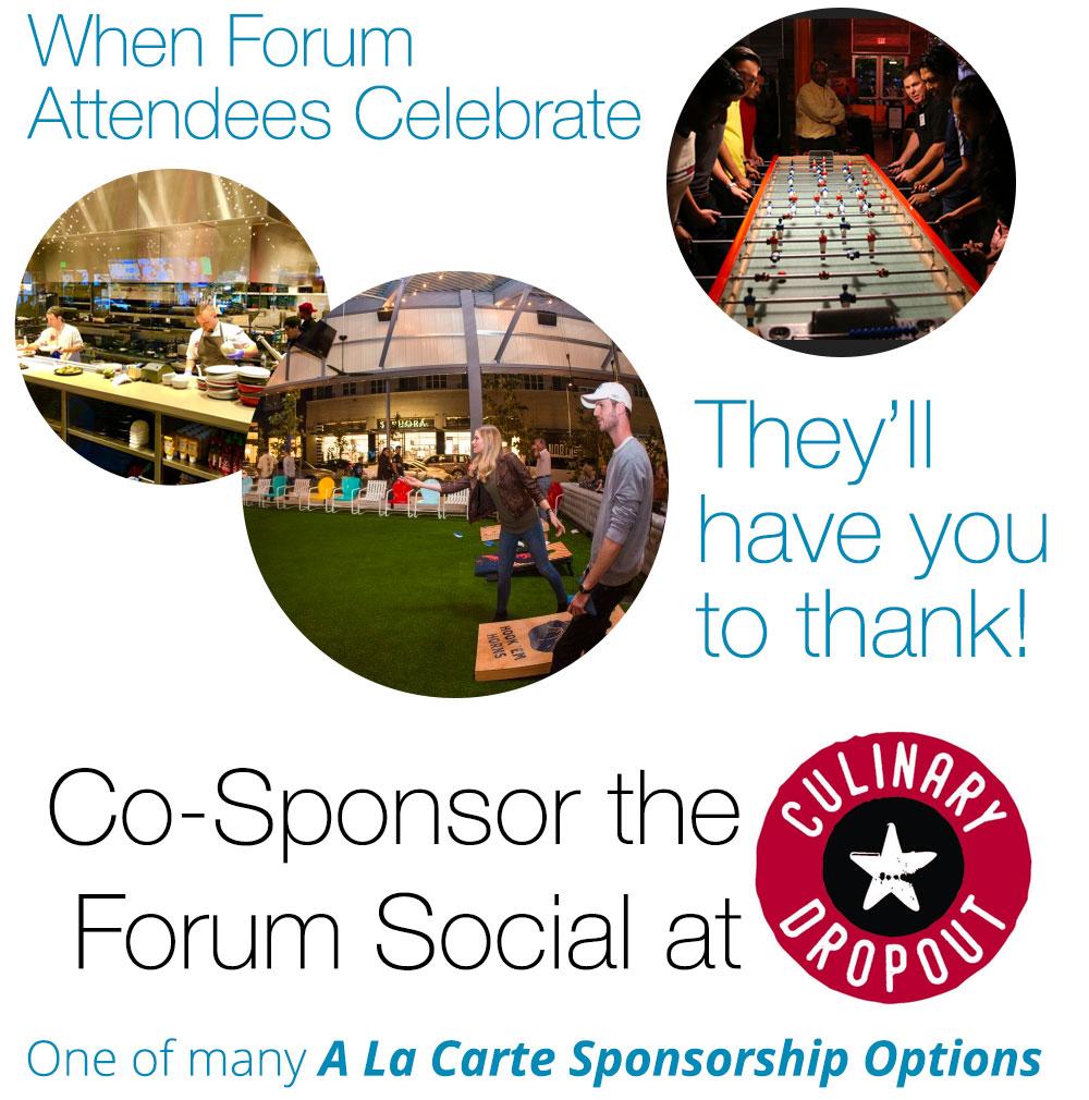 Sponsor the social