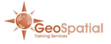 Geospatial Training logo and link