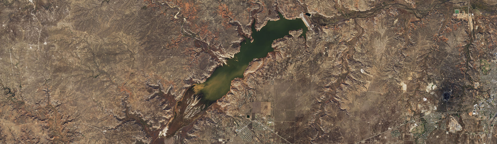 Natural Color preview of Lake Meredith
