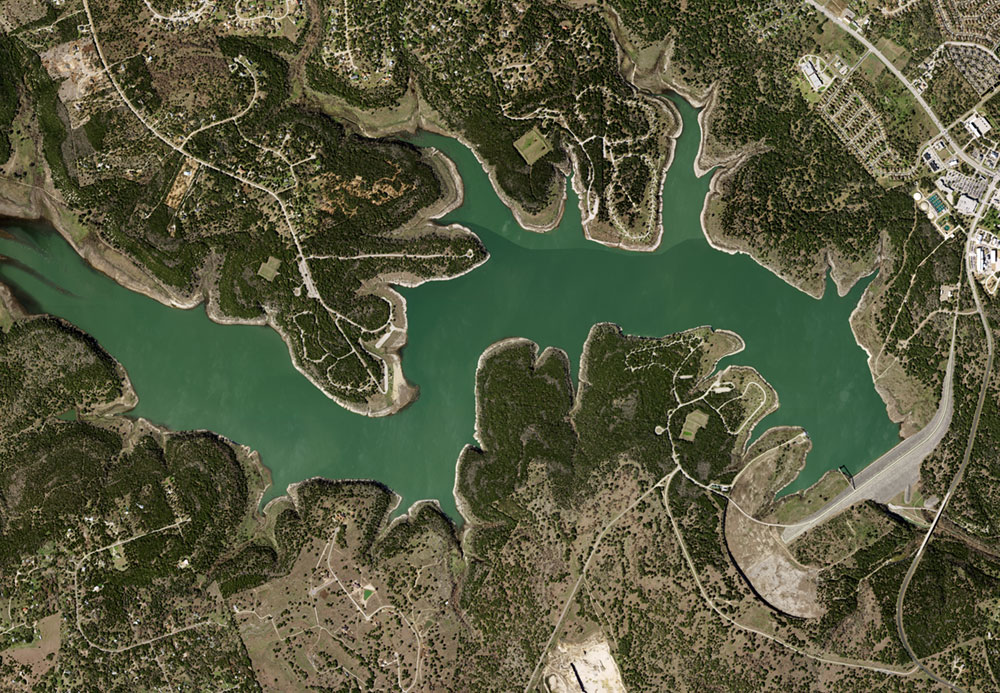 Natural Color preview of Lake Georgetown