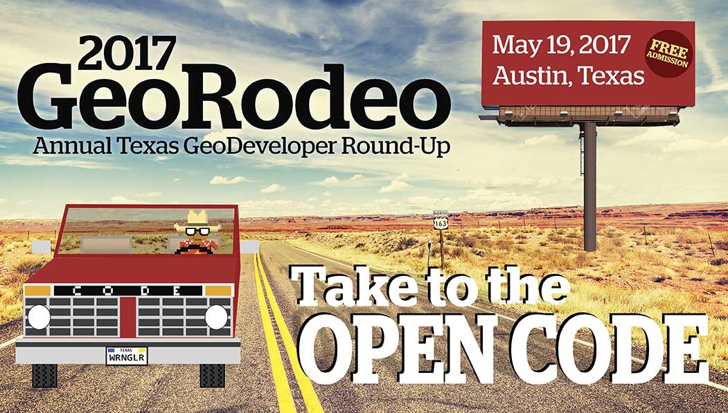 Small Masthead for 2017 GeoRodeo | Austin, Texas