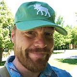 Head shot of Martijn van Exel from Open Street Map