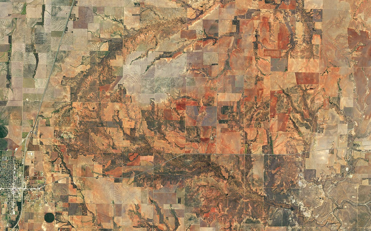 preview of Haskell County imagery at scale 1:65000
