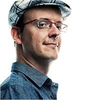 A headshot of Patrick Meier
