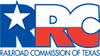 Railroad Commission logo and link to website