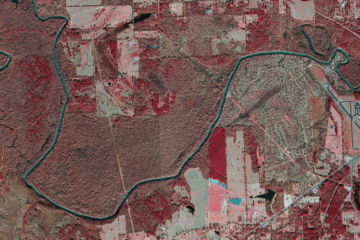 Sabine River normal conditions in 2014
