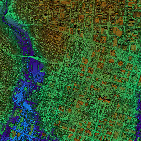 A thumbnail for Central Texas Lidar dataset