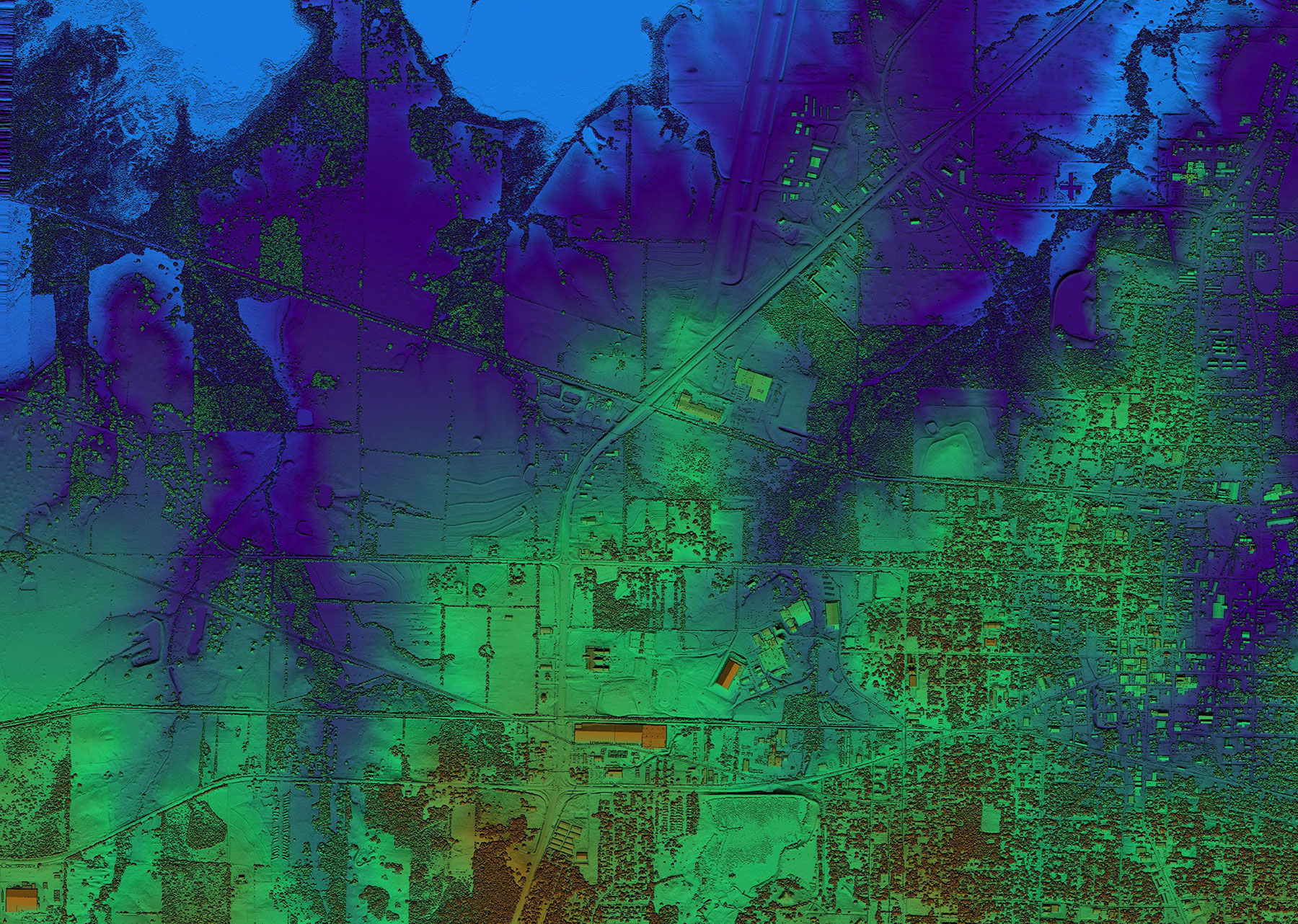detail image of East Texas Lidar