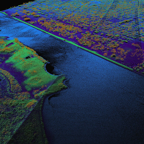 A thumbnail for Jefferson/Liberty Texas Lidar dataset