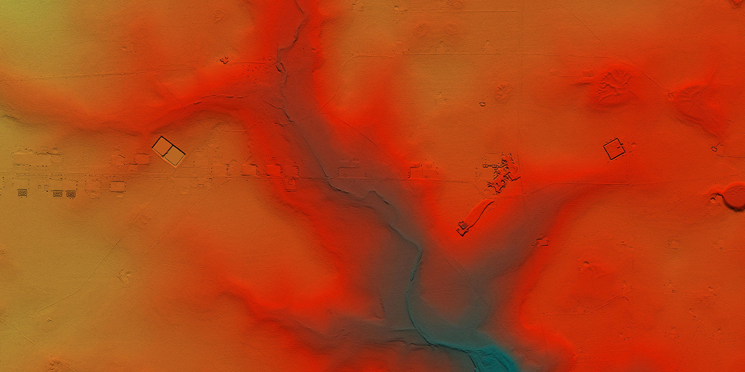 detail image of the Crockett County Lidar