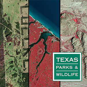Sample of new the Texas Parks and Wildlife Aerial Imagery