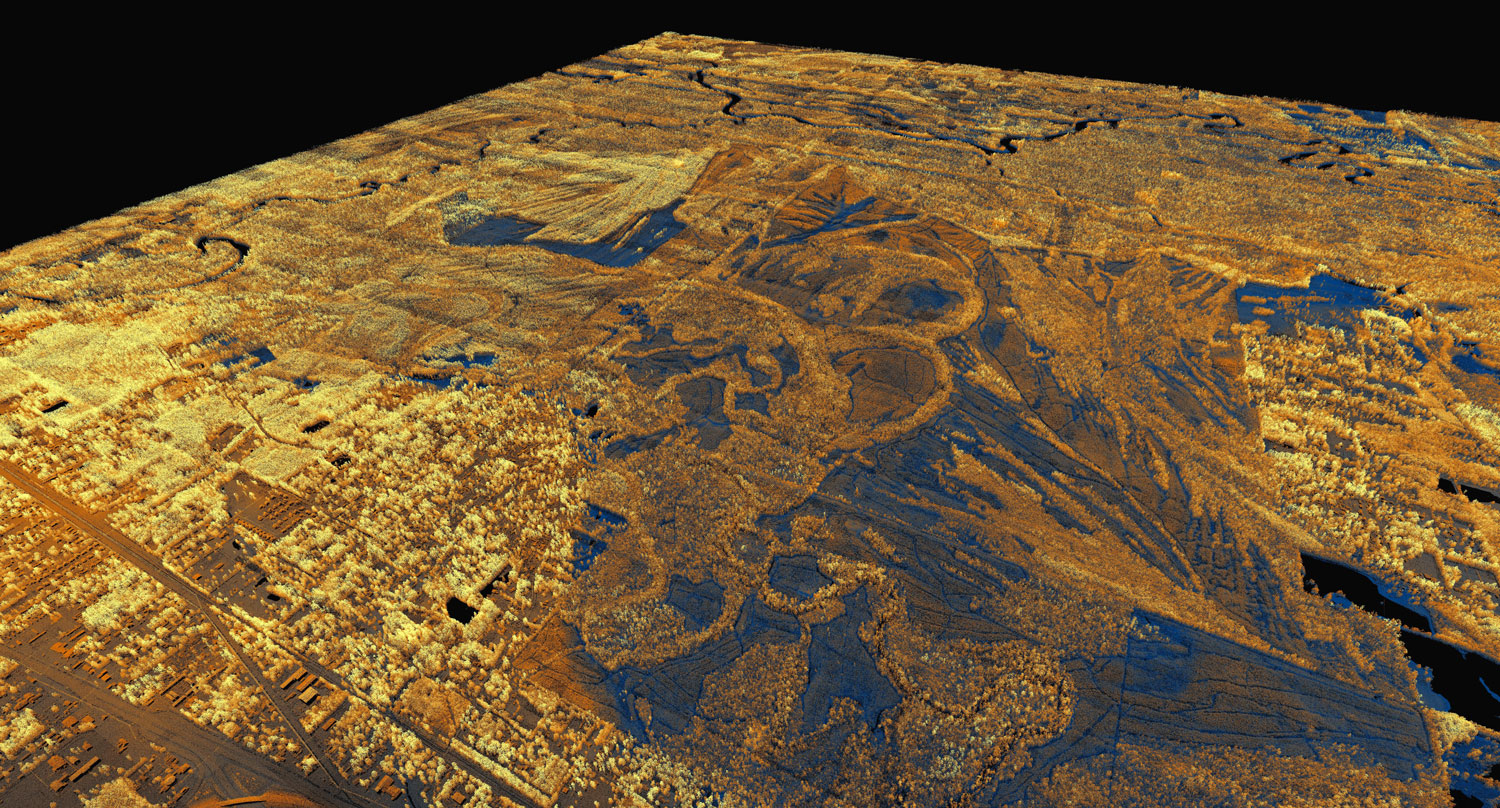Preview of Neches River Basin lidar