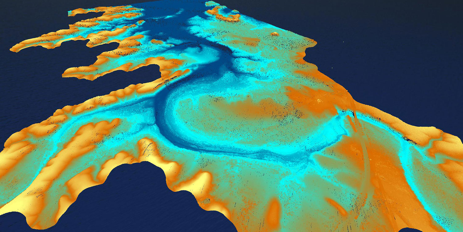 Preview of Lake Amistad lidar