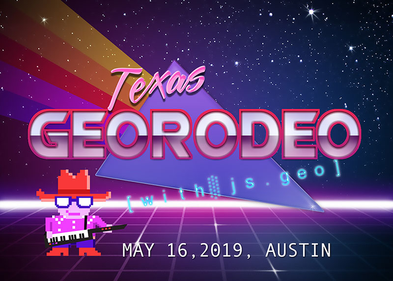 Masthead for 2019 GeoRodeo | Austin, Texas